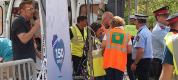 Gedi Media narra un simulacre d'accident amb múltiples víctimes