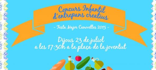 concurs infantil entrepans creatius