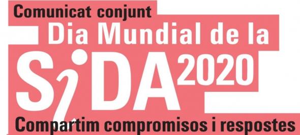 Gedi s'adhereix al comunicat conjunt del Dia Mundial de la Sida