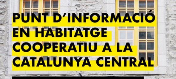 L'Ateneu Cooperatiu i Sostre Cívic obren a Manresa un punt d'informació en habitatge cooperatiu a la Catalunya Central