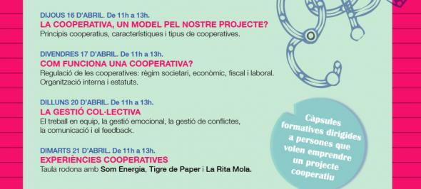 Ateneu Cooperatiu de la Catalunya central organitza cursos online sobre Eines per crear projectes cooperatius