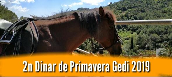 VIDEO | Gedi celebra el seu segon dinar de primavera a Can Colomer